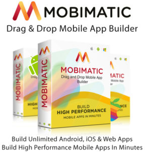 Mobimatic App Builder Free Download Unlimited License