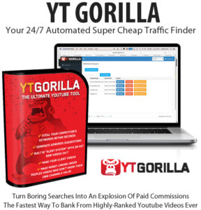 YT Gorilla Software Monthly License Free Download By Chris Fox