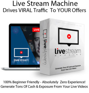 Live Stream Machine App Pro 100% Instant Access Lifetime!