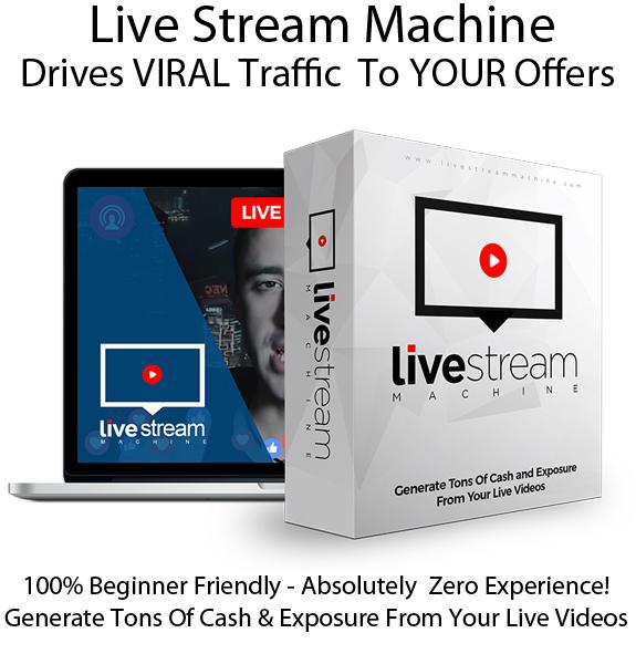 Live Stream Machine App Pro 100% Instant Access Lifetime!