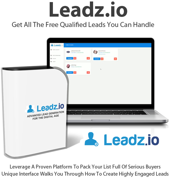 Leadz.io By Andrew Fletcher 100% Full Access Lifetime