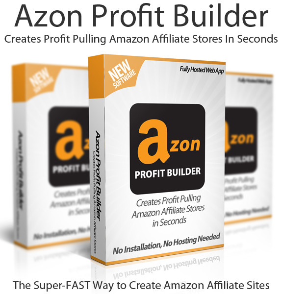 Azon Profit Builder PRO Instant Download Lifetime Account