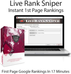 Live Rank Sniper PRO By Peter Drew Instant Download