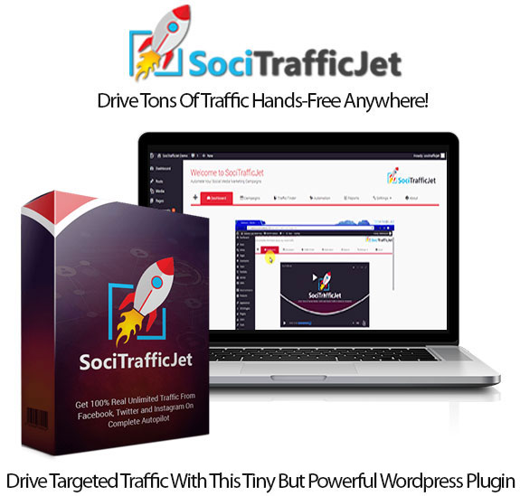 Soci Traffic Jet WP Plugin Pro Instant Download By Dr. Amit Pareek
