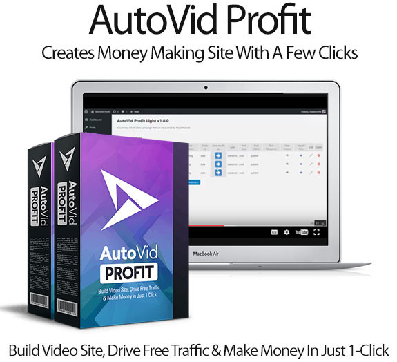 AutoVid Profit Pro License Lifetime Access By Moshfiqul Bari