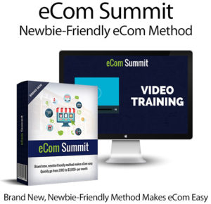 eCom Summit Training Course Instant Download By Ali Muhammad