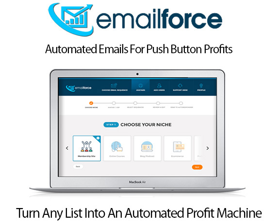 Email Force Software Niche Pack Instant Download By Simon Harries