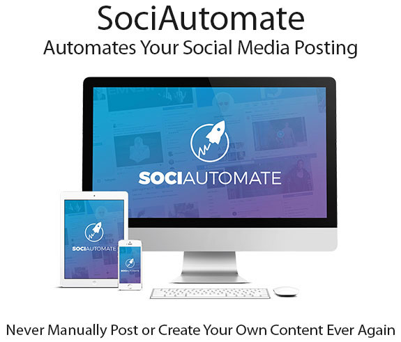 Instant Download SociAutomate Software Pro By Glynn Kosky
