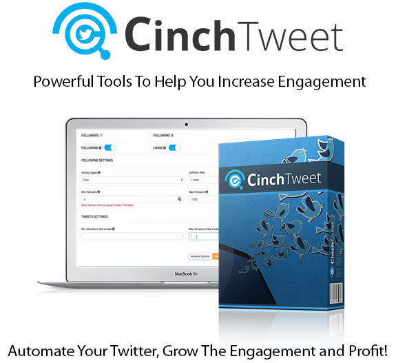 CinchTweet Software Pro Instant Download By Cindy Donovan