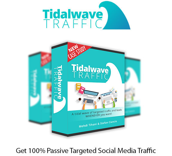Tidalwave Traffic Resell Rights Instant Download By Stefan Ciancio