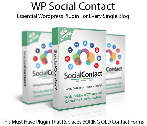 WP Social Contact Plugin Instant Download Pro License By Ankur Shukla