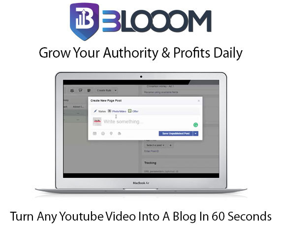 Blooom WordPress Plugin Pro Instant Download By Mark Bishop