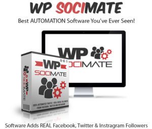 WP Socimate Unlimited License 100% Instant Download By Dan Green