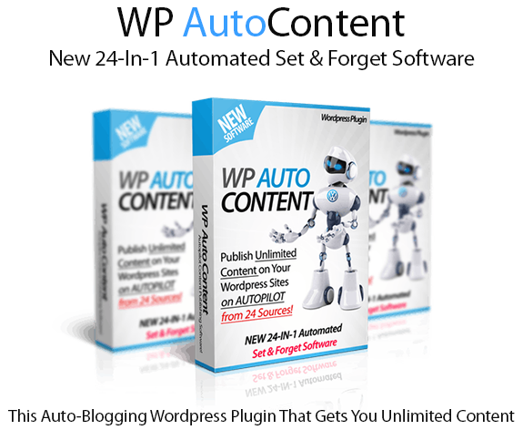 WP Auto Content Pro WordPress Plugin Instant Download By Ankur Shukla