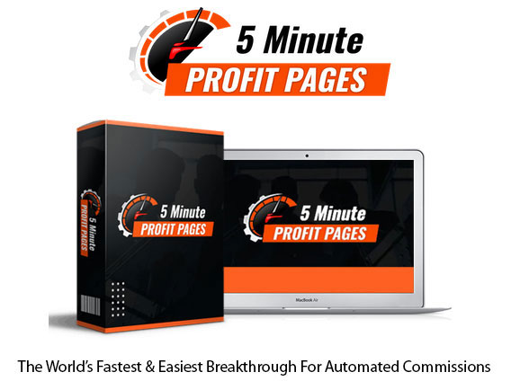 5 Minute Profit Pages Software Instant Download By Brendan Mace
