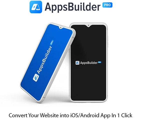 AppsBuilderPro Software Instant Download Pro License By Ankit Mehta