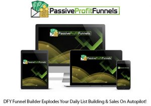 Passive Profit Funnels Software Pro Instant Download By Glynn Kosky