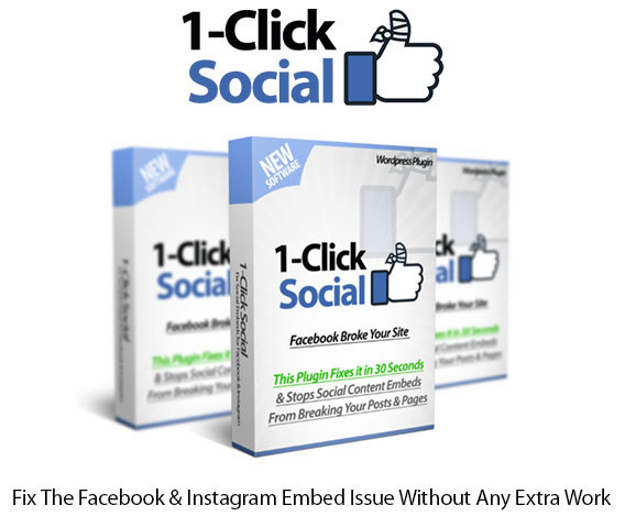 1-Click Social Plugin Instant Download Pro License By Ankur Shukla