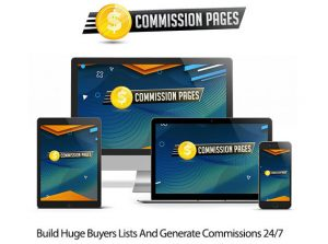 CommissionPages Software Instant Download Pro License By Glynn Kosky