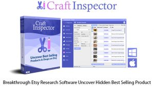 Craft Inspector Etsy Research Software Instant Download By Dave Guindon