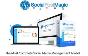 Social Post Magic Software Instant Download By Walt Bayliss.