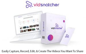 VidSnatcher 2.0 Software Instant Download Pro License By Todd Gross